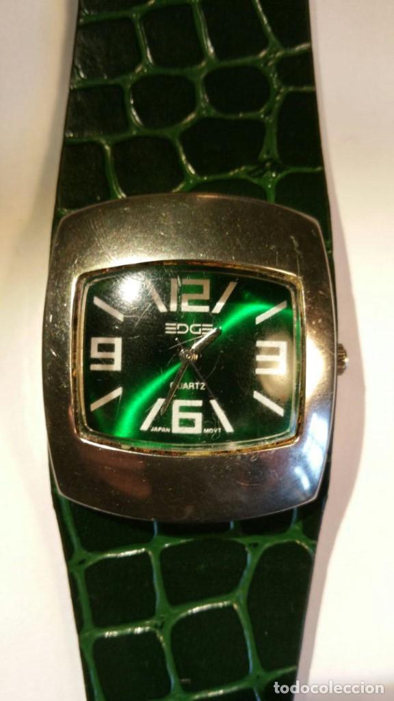 RELOJ EDGE QUARZ DE PULSERA VINTAGE PARA MUJER. JAPAN MOVT (Relojes - Relojes Vintage )