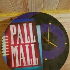 Vintage: RELOJ DE PUBLICIDAD PALL MALL DE LOS AÑOS 90. Lote 147493906