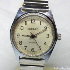 Vintage: RELOJ SUIZO EGALER DE CUARZO - CAJA 32 MM - FUNCIONANDO. Lote 147851874