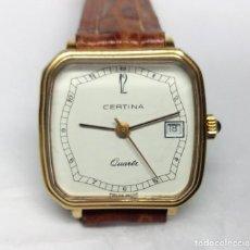Vintage: RELOJ CERTINA DE CUARZO, SWISS MADE - CAJA 25 MM - FUNCIONANDO. Lote 147853454