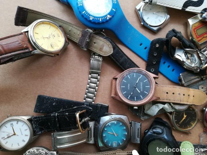 Vintage: Lote de unos 95 relojes diferentes marcas - Foto 3 - 147939166