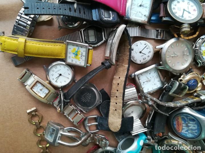 Vintage: Lote de unos 95 relojes diferentes marcas - Foto 4 - 147939166