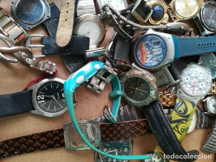 Vintage: Lote de unos 95 relojes diferentes marcas - Foto 5 - 147939166