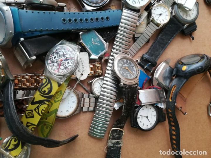 Vintage: Lote de unos 95 relojes diferentes marcas - Foto 6 - 147939166