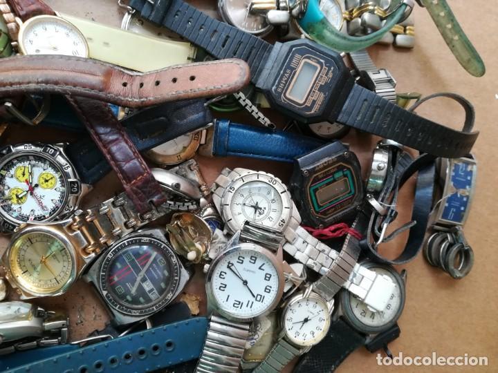 Vintage: Lote de unos 95 relojes diferentes marcas - Foto 7 - 147939166
