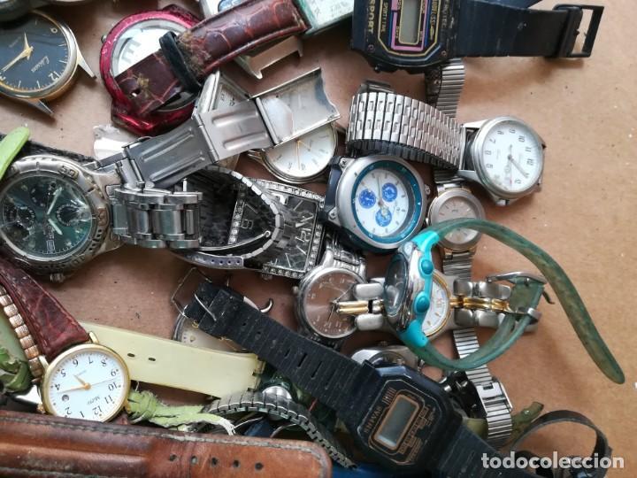 Vintage: Lote de unos 95 relojes diferentes marcas - Foto 8 - 147939166