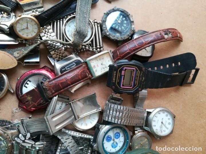 Vintage: Lote de unos 95 relojes diferentes marcas - Foto 9 - 147939166
