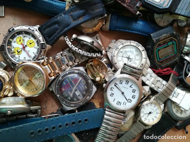 Vintage: Lote de unos 95 relojes diferentes marcas - Foto 10 - 147939166