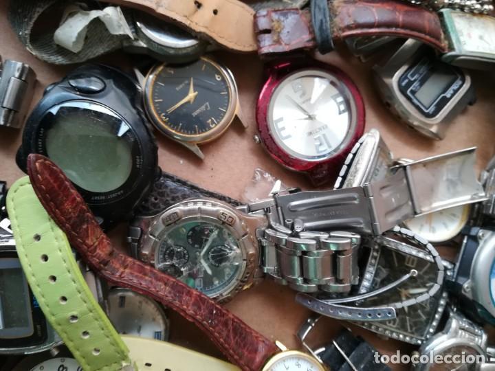 Vintage: Lote de unos 95 relojes diferentes marcas - Foto 11 - 147939166