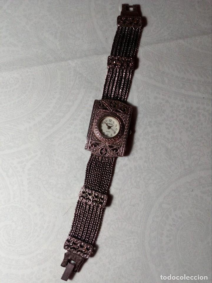 Vintage: RELOJ AMBIANCE QUARTZ - METAL CROMADO - - Foto 3 - 148707522