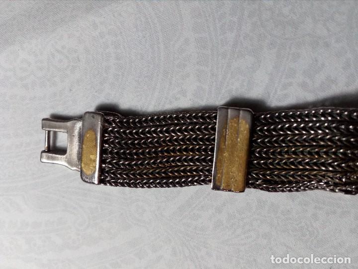 Vintage: RELOJ AMBIANCE QUARTZ - METAL CROMADO - - Foto 8 - 148707522