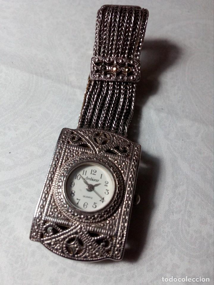 Vintage: RELOJ AMBIANCE QUARTZ - METAL CROMADO - - Foto 10 - 148707522