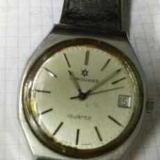 Vintage: RELOJ JUNGHANS QUARTZ ORIGINAL MADE IN GERMANY VER FOTOS. Lote 148905178
