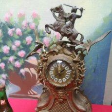 Vintage: RELOJ DE BRONCE. Lote 148931956
