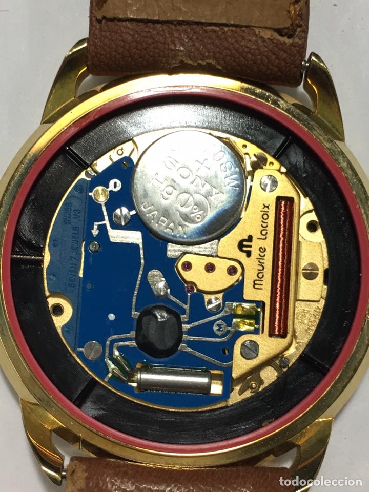 Vintage: Reloj Maurice Lacroix chapado oro vintage muy elegante con caja como nuevo maquina Swiss made - Foto 2 - 150793813