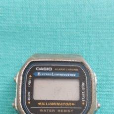 Vintage: ANTIGUO RELOJ CASIO ALARM CHRONO ILLUMINATOR PARA PIEZAS O DESGUACE. Lote 150248966