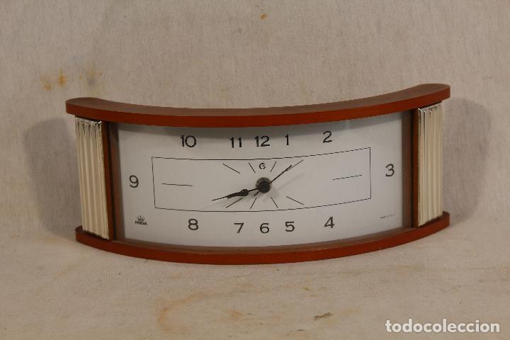 Vintage: reloj quartz en plata de ley marca mida - Foto 3 - 152390886