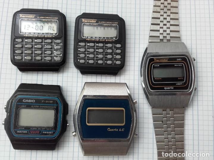 84f1b208cc49 lote relojes solo para aprovechar piezas o repa - Comprar Relojes ...