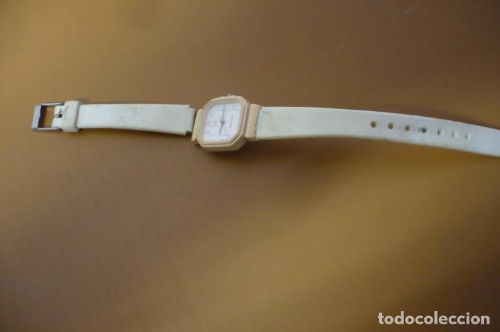 RELOJ CASIO JUVENIL COLOR MARFIL (Relojes - Relojes Vintage )