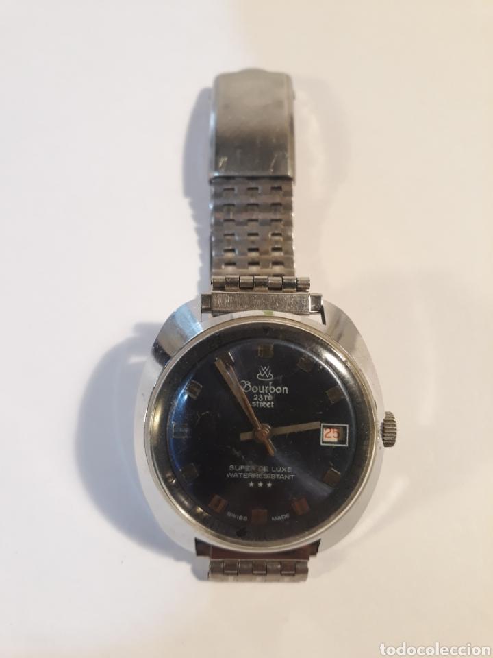 Vintage: Reloj Bourbon 23rd street.swiss made. - Foto 2 - 153932092