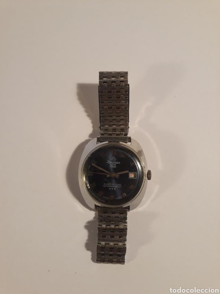 Vintage: Reloj Bourbon 23rd street.swiss made. - Foto 4 - 153932092