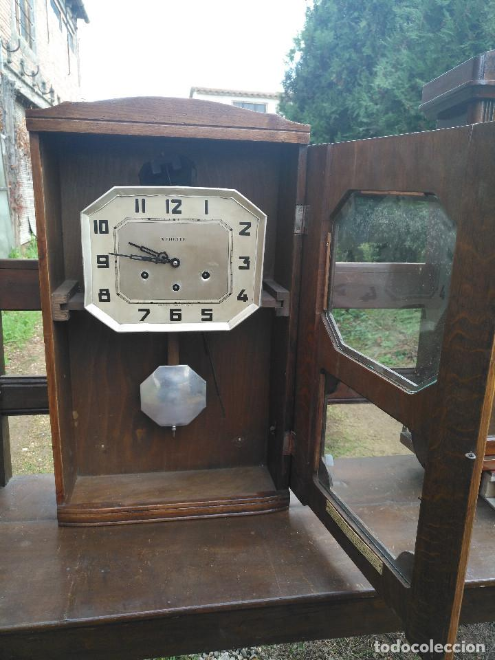Vintage: Reloj isabelino carrillon - Foto 2 - 154024078