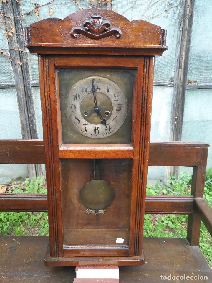 RELOJ DE CAJA RECTANGULAR (Relojes - Relojes Vintage )