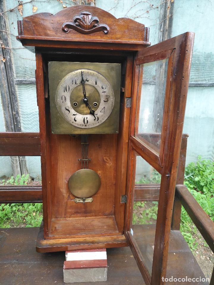 Vintage: Reloj de caja rectangular - Foto 2 - 154026518
