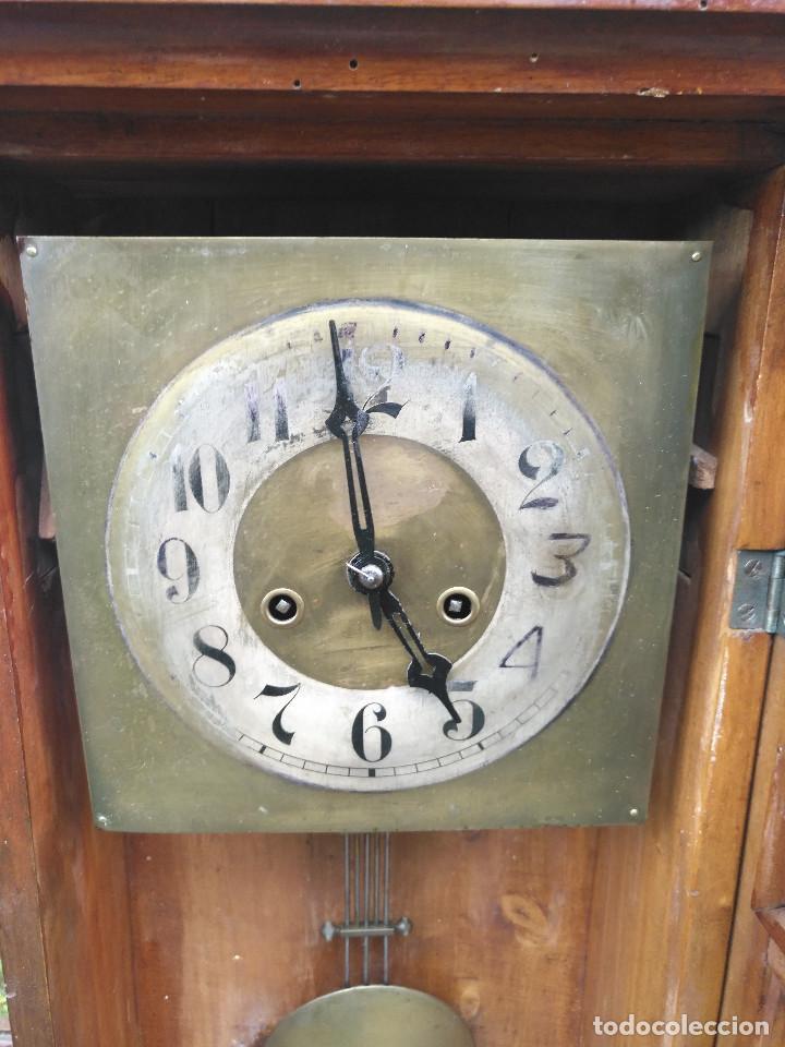 Vintage: Reloj de caja rectangular - Foto 3 - 154026518