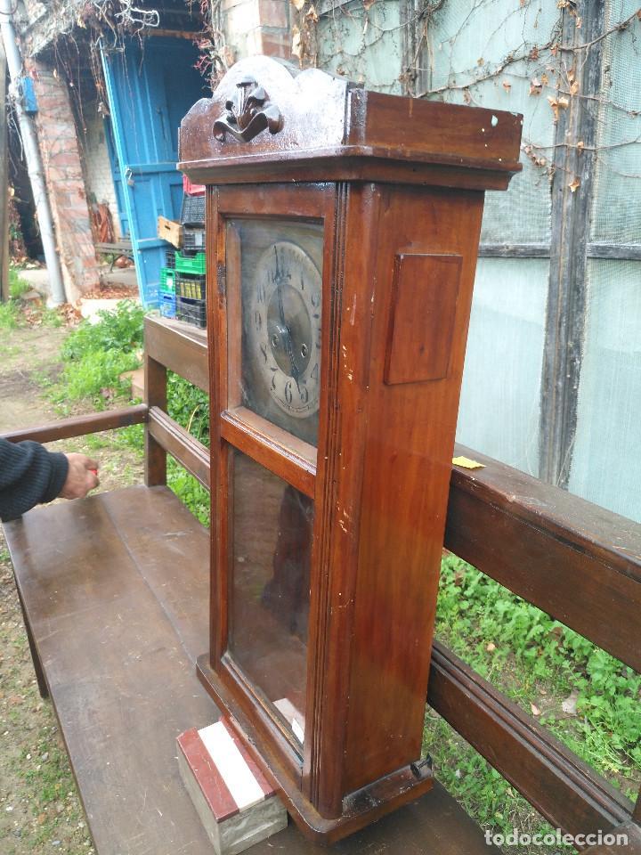 Vintage: Reloj de caja rectangular - Foto 10 - 154026518