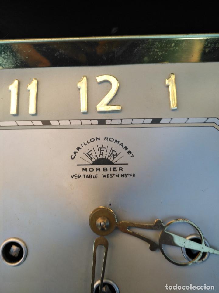 Vintage: Reloj isabelino carrillon - Foto 2 - 154029058