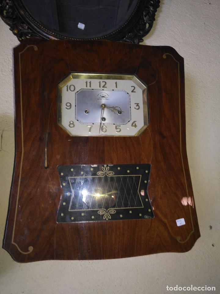 Vintage: Reloj isabelino carrillon - Foto 10 - 154029058