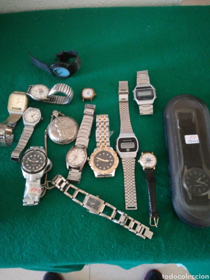 LOTE DE RELOJES VARIOS (Relojes - Relojes Vintage )