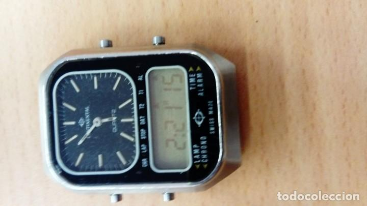 Vintage: Reloj Continental Analógico - Digital - Foto 2 - 155238582