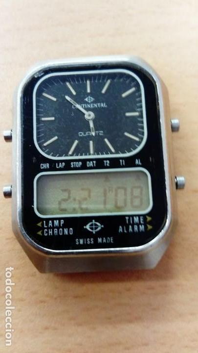 RELOJ CONTINENTAL ANALÓGICO - DIGITAL (Relojes - Relojes Vintage )
