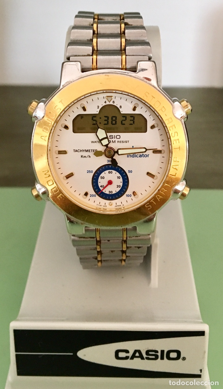 RELOJ CASIO LAP INDICADOR GPZ-500 JAPAN VINTAGE (Relojes - Relojes Vintage )