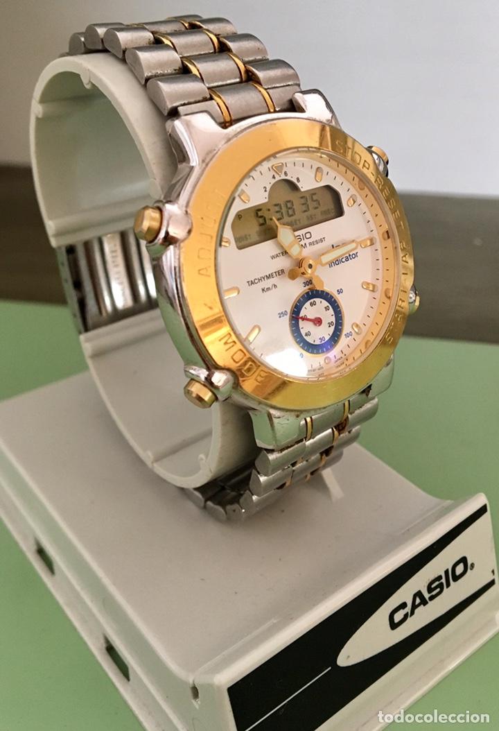 Vintage: Reloj Casio Lap indicador GPZ-500 japan Vintage - Foto 2 - 155701000