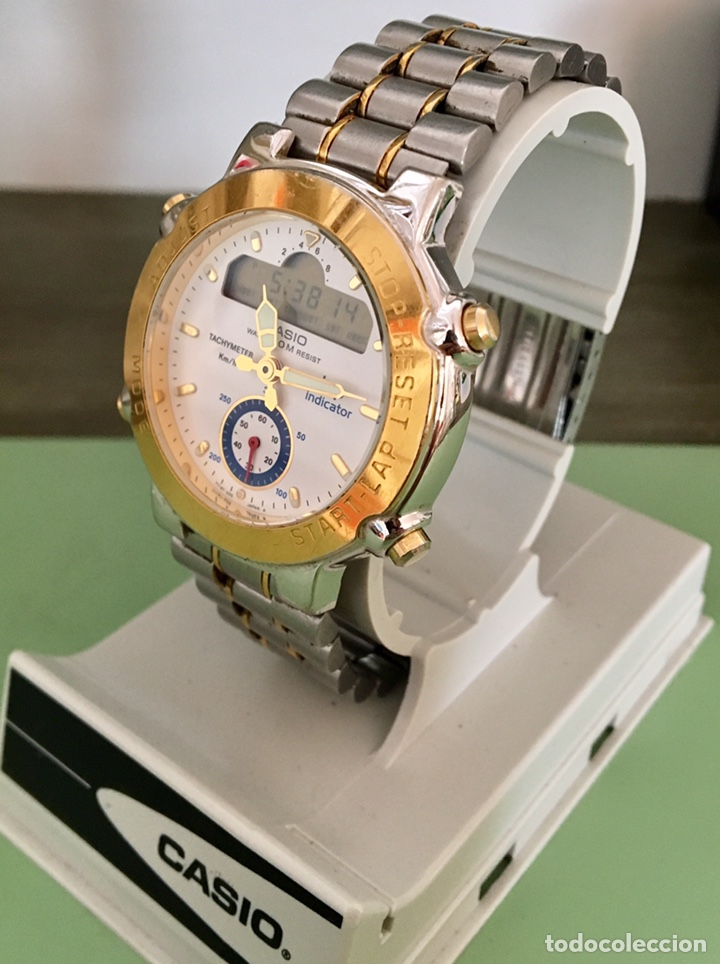 Vintage: Reloj Casio Lap indicador GPZ-500 japan Vintage - Foto 3 - 155701000
