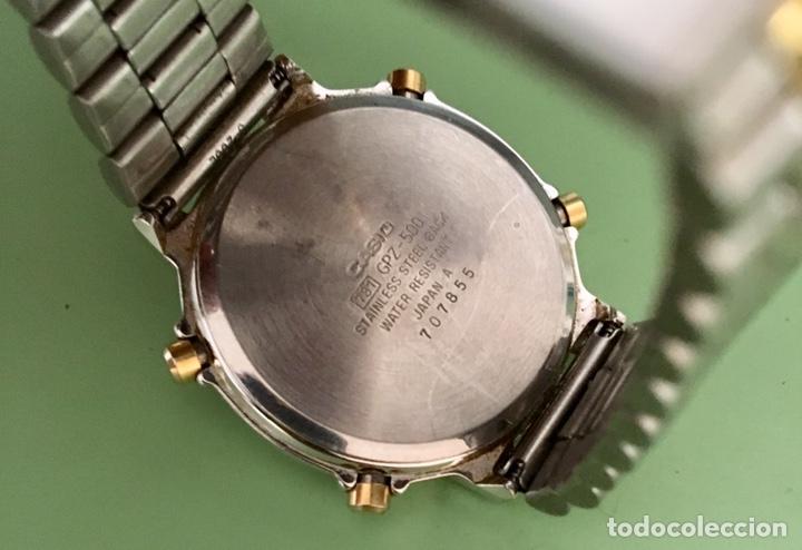 Vintage: Reloj Casio Lap indicador GPZ-500 japan Vintage - Foto 5 - 155701000