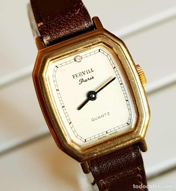 RELOJ FERVILL, SWISS MADE, VINTAGE, NOS (NEW OLD STOCK) (Relojes - Relojes Vintage )