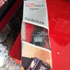 Vintage: LCD ELECTRONIC ENCENDEDOR WATCH CON BLISTER ORIGINAL AÑOS 80.. Lote 179112033