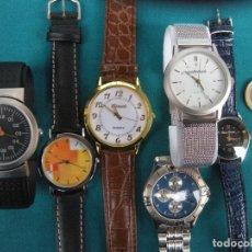 Vintage: RELOJES, LOTE DE 6 . QUARTZ. Lote 157990738