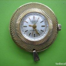Vintage: RELOJ DE CUERDA ASEIKON. FUNCIONA. Lote 158304426
