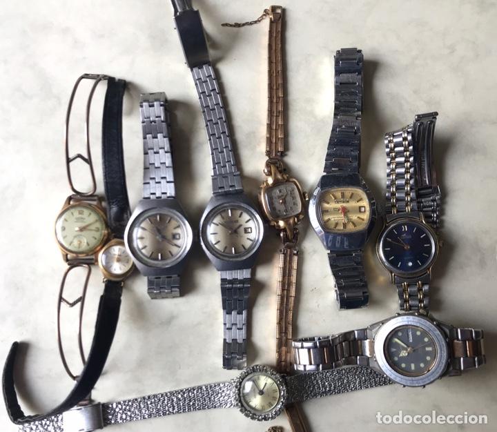 LOTE DE RELOJES SEÑORA, DOGMA, CETIKON, LOTUS, ORIENT..PARA ARREGLAR O PIEZAS (Relojes - Relojes Vintage )