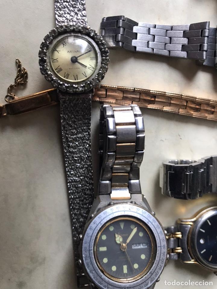 Vintage: Lote de relojes señora, DOGMA, CETIKON, LOTUS, ORIENT..para arreglar o piezas - Foto 5 - 158422494