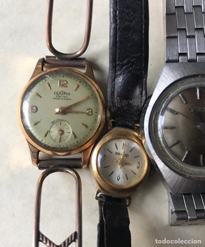 Vintage: Lote de relojes señora, DOGMA, CETIKON, LOTUS, ORIENT..para arreglar o piezas - Foto 6 - 158422494