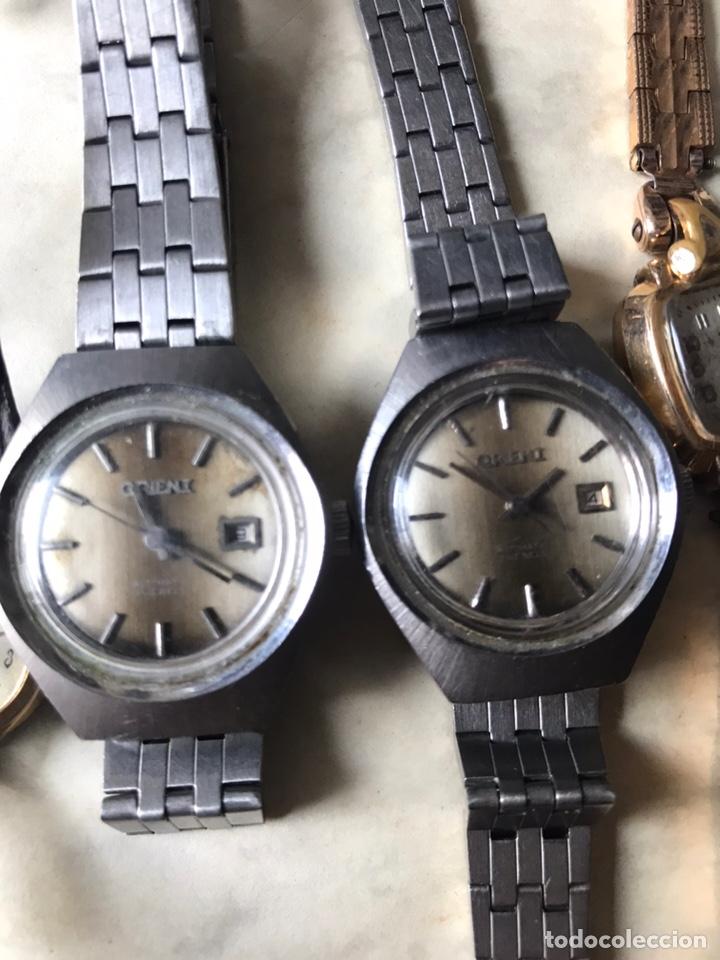 Vintage: Lote de relojes señora, DOGMA, CETIKON, LOTUS, ORIENT..para arreglar o piezas - Foto 7 - 158422494