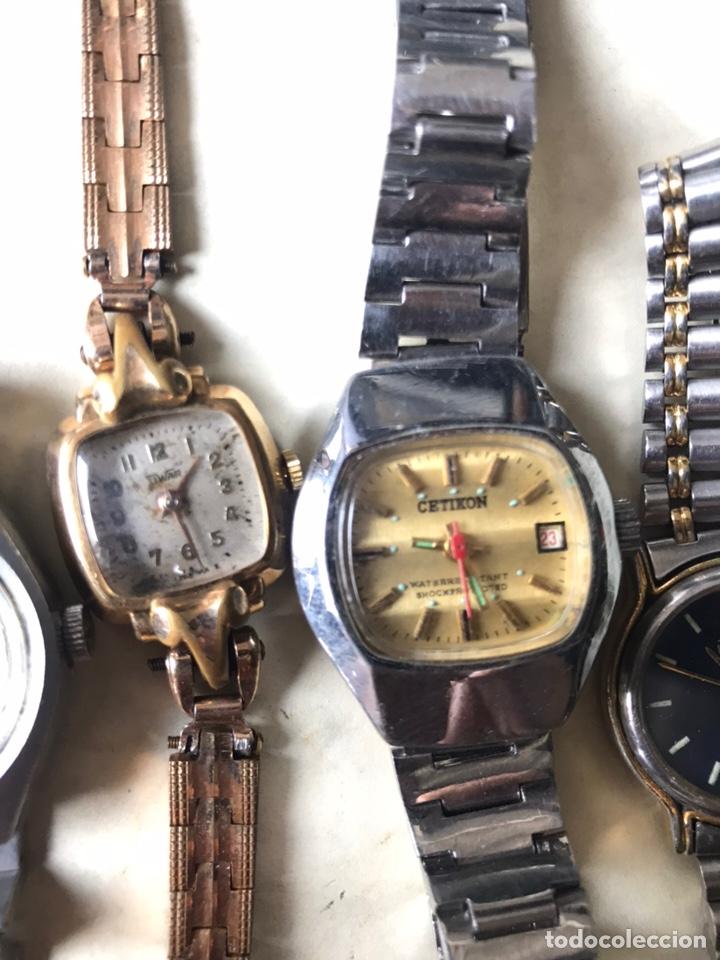 Vintage: Lote de relojes señora, DOGMA, CETIKON, LOTUS, ORIENT..para arreglar o piezas - Foto 8 - 158422494
