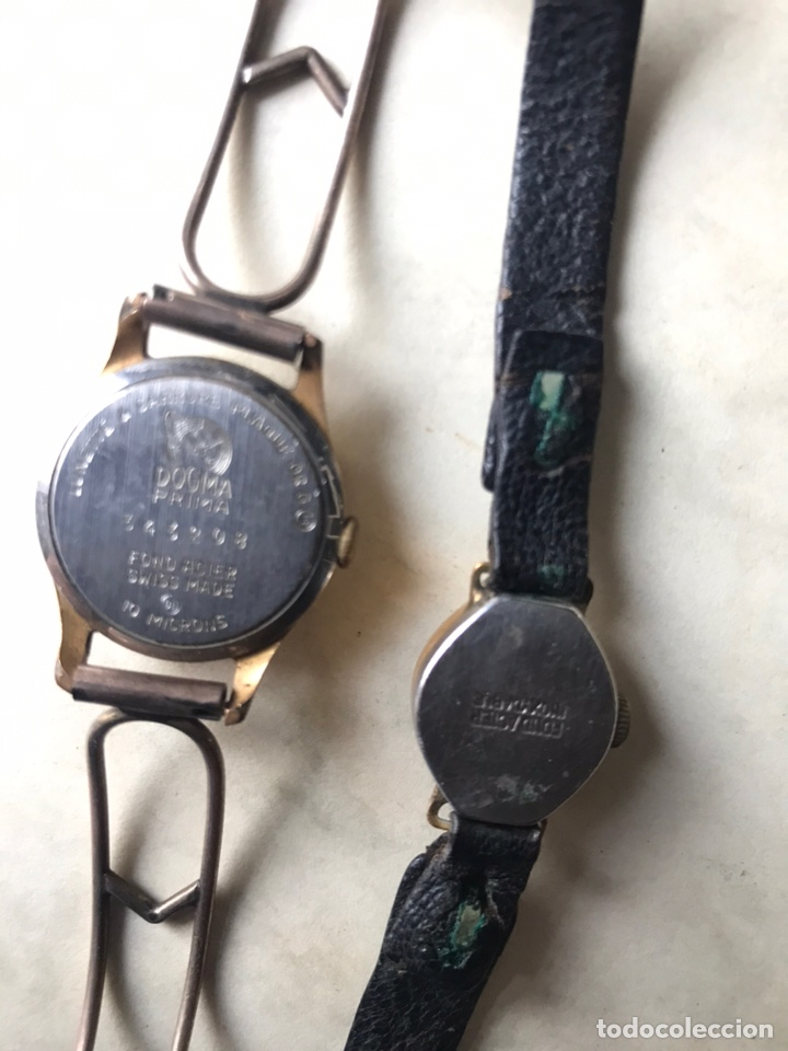 Vintage: Lote de relojes señora, DOGMA, CETIKON, LOTUS, ORIENT..para arreglar o piezas - Foto 10 - 158422494