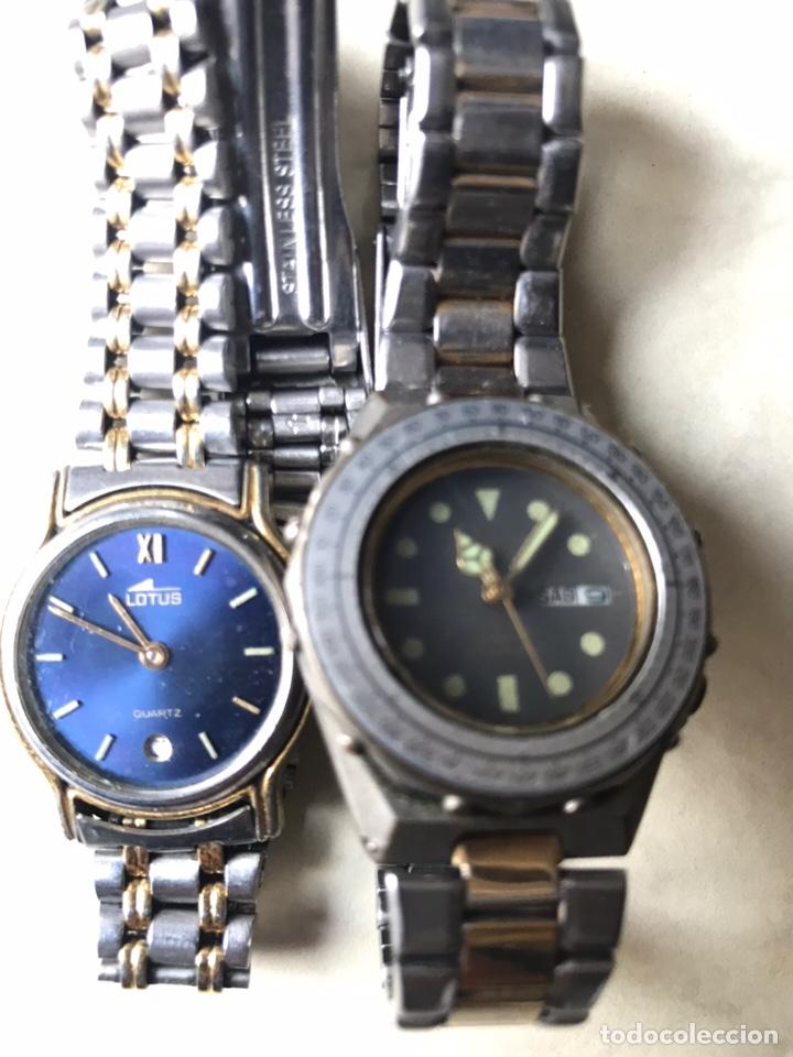 Vintage: Lote de relojes señora, DOGMA, CETIKON, LOTUS, ORIENT..para arreglar o piezas - Foto 12 - 158422494